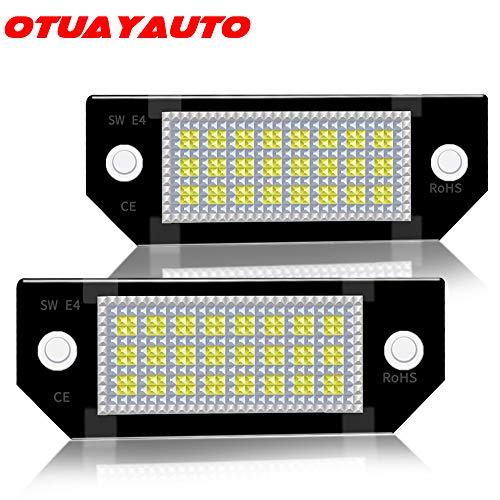 LED Kennzeichenbeleuchtung, OTUAYAUTO Kennzeichen Led Nummernschildbeleuchtung für Focus, C-max