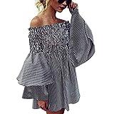 [オープンショルダー ワンピース] Neartime Womens Open shoulder Dress あいらしい きれい きれいな服 馬子にも衣装 [並行輸入品] (s)
