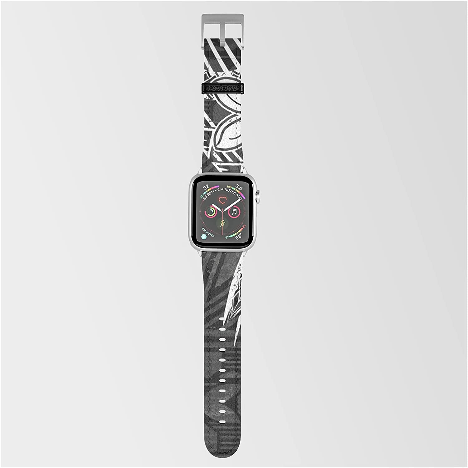 Vintage Max 80% OFF Samoan Tapa Print by Sun Threads Co N Smartwatch Band Gifts on