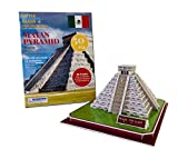Little Learning Hands 3D Puzzles for Adults and Kids | Mayan Pyramid 3D Puzzle | Mexico Architecture Model Kit | Birthday Gifts for Kids, Teens and Adults