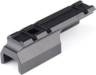 VERY100 Aluminum Weaver/Picatinny Rail Scope Mount 3 Slots 20 mm Rail for Rifles
