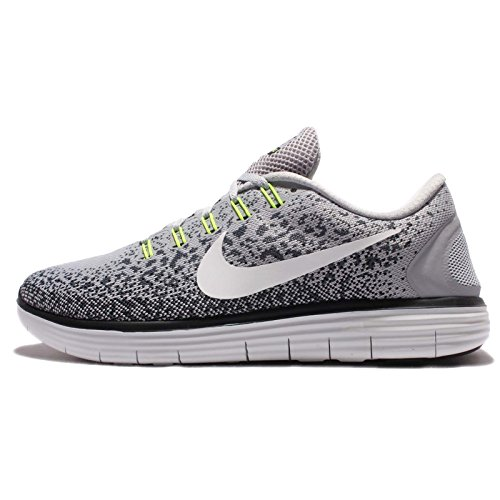 Nike Free RN Distance, Zapatillas de Running Hombre, Gris (Wolf Grey/Off White-Cool Grey-Black), 48 1/2