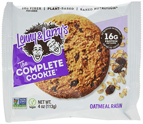 Lenny And Larry's Complete 12 Cookies, Oatmeal Raisins