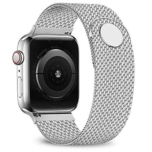 Waband Armband Kompatibel mit 38 mm 40 mm Smart Watch, Edelstahl Ersatzarmband mit Magnet, Kompatibel mit Watch Serie 5/4/3/2/1