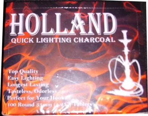 Quick Lighting Hookah Charcoal Pieces At the price 100 New arrival Round Box
