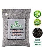Zanskar Bamboo Charcoal Odor Eliminator Bag Activated Charcoal Odor Absorber Charcoal Bag Natural Freshener Removes Odors and Moisture Odor Eliminator for Home Pets Areas Car Closet Basement (1-Pack)