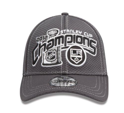 NHL Los Angeles Kings Offizielle 2012Stanley Cup Champion Locker Room Gap, Damen Herren, grau