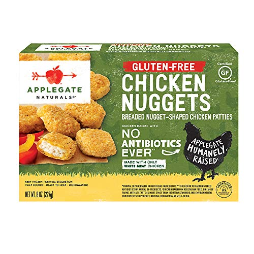 Applegate, Natural Gluten-Free Chicken Nuggets, 8oz...