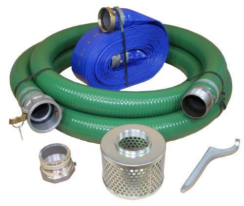 Abbott Rubber X1240-KIT-3000-1147-CN Water Pump Hose Kit, Includes 3-Inch Suction and Discharge Hose