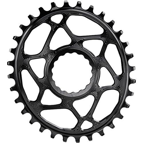 Absolute schwarz Race Face Oval Cinch Boost Direct-Mount Traktion Kettenblatt, schwarz
