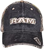 Men's Dodge Ram Baseball Cap Mossy Oak Camouflage Adjustable Hat