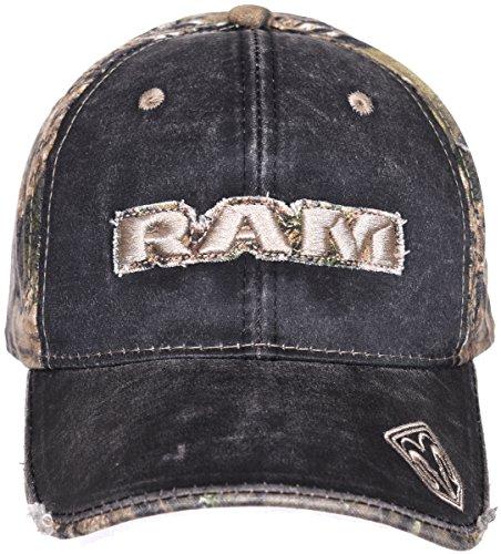 Dodge Ram Baseballkappe für Herren, Mossy Oak Camouflage, verstellbar