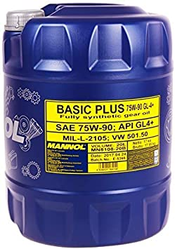 Mannol Basic Plus 75w 90 Api Gl 4 20 Liter Auto