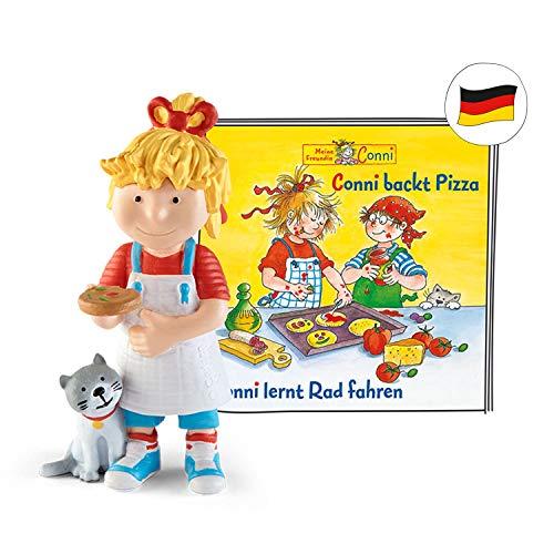 tonies Hörfiguren für Toniebox - Conni - Conni backt Pizza und Conni lernt Rad Fahren - ca. 40 Min. - Ab 3 Jahre -DEUTSCH