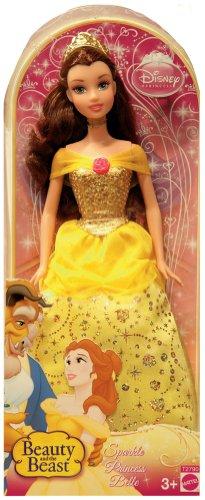 Mattel Barbie Princesas Disney - La Bella y la Bestia: muñeca Bella [Versión en inglés]