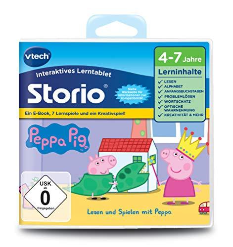 VTech 80-233404 - Lernspiel Peppa (Storio 2, Storio 3S)
