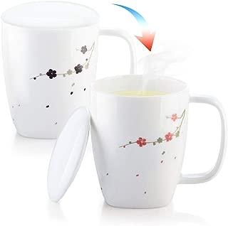 white mug with lid