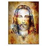 enpingan Porträt Leinwand Malerei Druck Von Jesus Poster