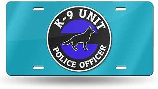 k9 license plate