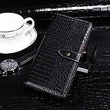 Étui de téléphone Portable Idéal pour Huawei Nova 6 Se Crocodile Texture Horizontal Rover Cuir...