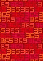 igsticker ポスター ウォールステッカー シール式ステッカー 飾り 1030×1456㎜ B0 写真 フォト 壁 インテリア おしゃれ 剥がせる wall sticker poster 012263 赤 数字 文字