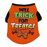 Fossrn Perro Ropa Disfraz Halloween Camiseta para Pequeño Chihuahua Yorkshire...
