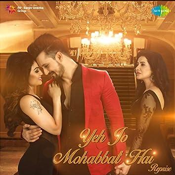Yeh Jo Mohabbat Hai - Single