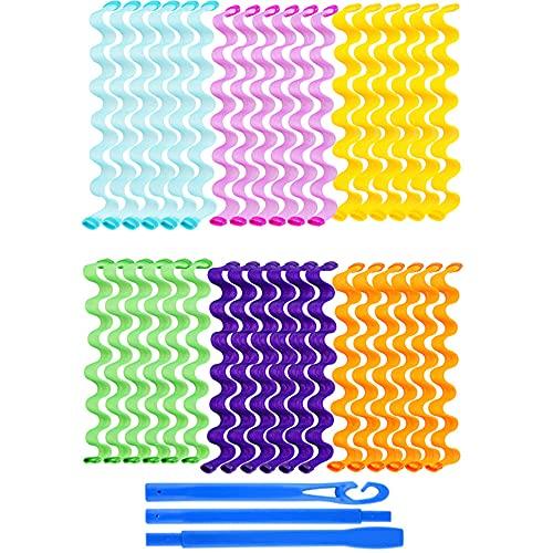 PROVO 36 piezas rizadores de mágicos en espiral,...