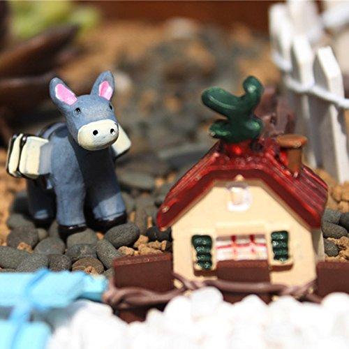 3 Pcs/Set Mini Animal DIY Micro Monde Moss Micro Paysage Jardinage Résine Décoration Maison Jardin Ornements