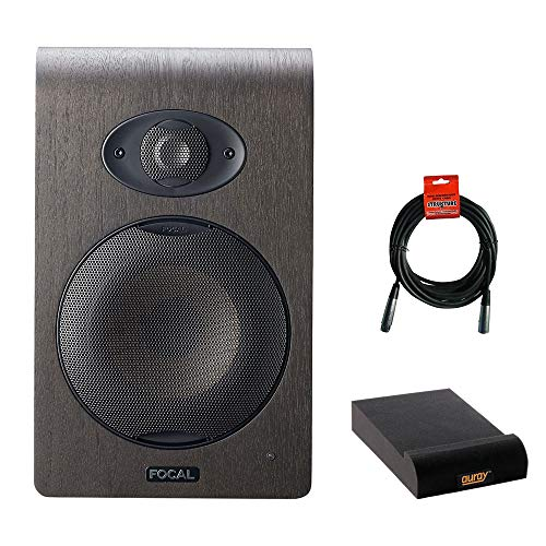 Great Deal! Focal Shape 50 5.0 Active 2-Way Studio Monitor (Single) with Small Isolation Pads & XLR...