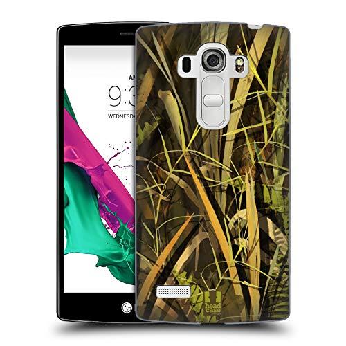 Head Case Designs Pato Mojado/Temporada de Aves Acuáticas Insignia de Camuflaje Hunting Carcasa rígida Compatible con LG G4 Beat / G4s / G4 s / H735