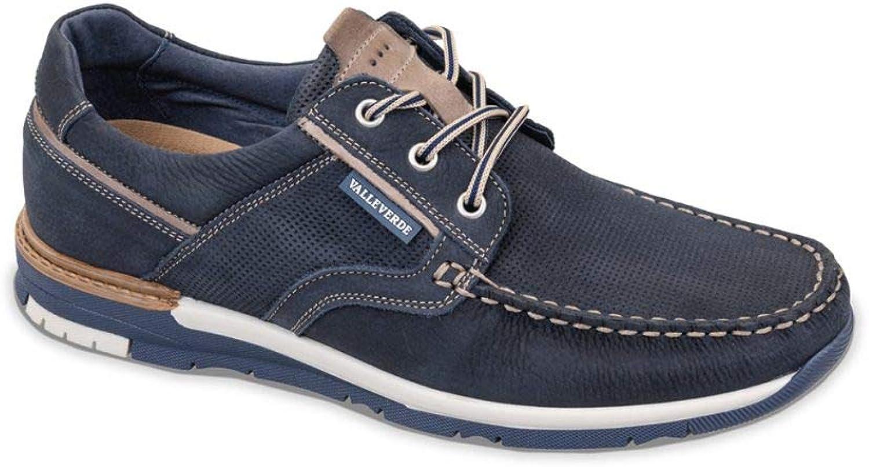 VALLEgreen Men's Loafer Flats bluee Oceano