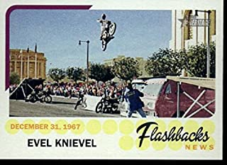 2016 Topps Heritages Flashbacks #NF-EK Evel Knievel Baseball Card