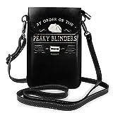 by Order of The Peaky Blinders - Bolso de piel para mujer, tamaño único, color negro