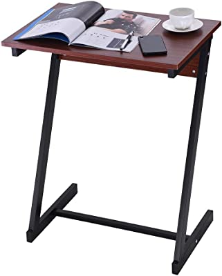 Amazon Com Xingkaiji Laptop Lazy Table Bed Solid Wood