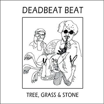 Tree, Grass & Stone