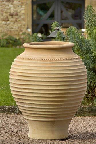 Amphore terracotta, méditerranéenne terrasse jardin extérieur, qualité Pot en céramique 35–100cm, Agave 100 cm