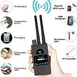 Espía Cámara Detector,Señal RF Detector Anti Espía Antena Dual Buscador GPS de Cámara Oculta de Señal Inalámbrica de Alta Sensibilidad de Amplio Rango