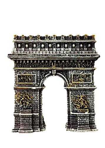 Arc de triomphe Paris France Aimant Réfrigérateur 3D Souvenir Collection Cadeau Décoration Maison et Cuisine Aimant Réfrigérateur Aimant Aimant de Réfrigérateur