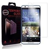 Ycloud Protector de Pantalla para HTC Desire 820 Cristal Vidrio Templado Premium [9H Dureza][Alta Definicion]
