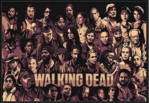 ysldtty Rompecabezas De 1000 Piezas The Walking Dead The Comic Paint Puzzles Juguetes para Adultos Niños Patrón Juguetes Educativos A-1277