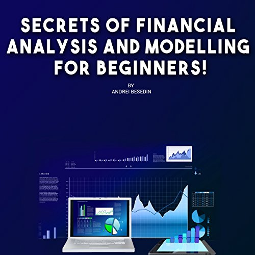 Secrets of Financial Analysis and Modelling For Beginners! audiobook cover art