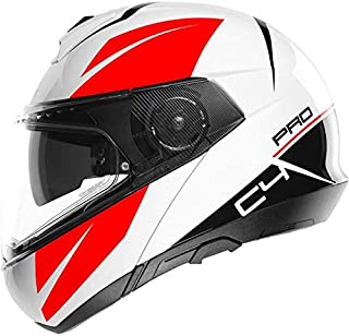 SCHUBERTH Unisex C4 Pro Helm, Weiß Merak White, 59 L
