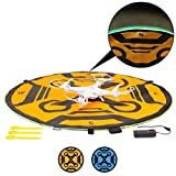 USA Gear Drone Landing Pad with 3 LED Lighting Modes - 30 inch,...
