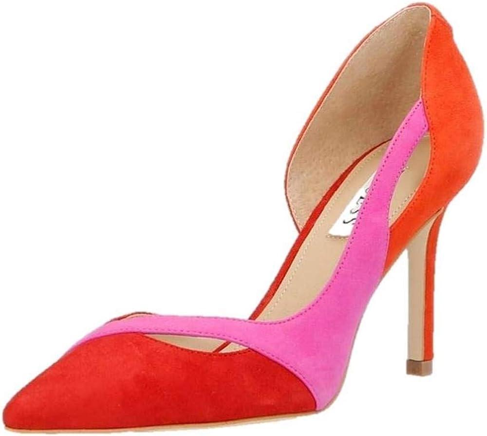 Guess scarpe decolletee` per donna in vera pelle scamosciata FL5GTTSUE08
