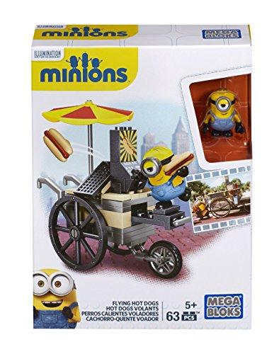 Mega Bloks Minions klein Spielset–Flying Hot Dog Cart