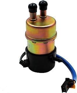 Road Passion 12V Elektrisch Kraftstoffpumpe Benzinpumpe Selbstansaugend für Kawasaki Ninja ZX6/ZX6R/ZX7/ZX7R/ZX7RR/ZX9R/600R/Yamaha YZF 1000/1000R/600R/R1/R6