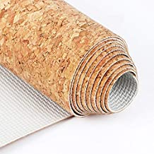 Print Yoga Mat 1MM 183 * 66CM Cork Natural Rubber Yoga Mat Fitness Women Men Pilates Gymnastics Pad Cushion Exercise Sport Mats Machine washable 瑜伽垫
