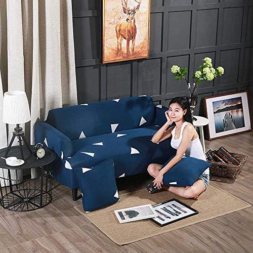 Abill - Funda de sofá para cuatro estaciones, tela para sofá de 1/2, 3, 4 y 4, lavable, Tres metros de sol, 90-145cm