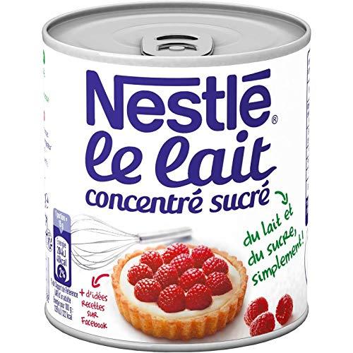 Nestlé - Lait Concentré Sucré Matiere Grasse 397G - Lot De 4 - Prix Du Lot - Livraison En France Métropolitaine